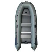 Надувная лодка Parsun 330E килевая зеленая