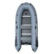 Надувная лодка Parsun 330E килевая серая