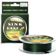Шнур Globe SINK FAST 20m (зеленый)