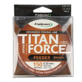 Леска Kalipso Titan Force Feeder 150м BROWN