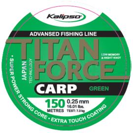Леска Kalipso Titan Force Carp 150м GREEN