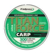 Леска Kalipso Titan Force Carp 300м GREEN