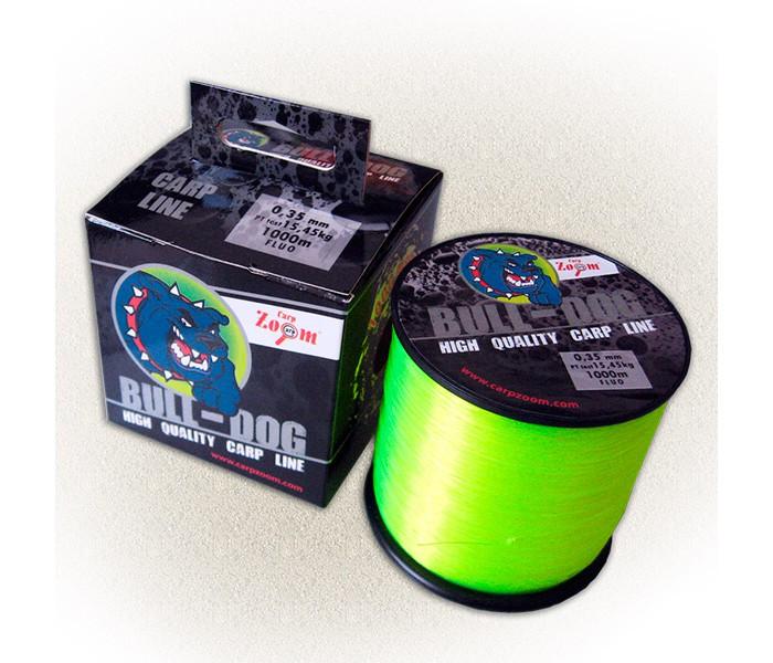 Леска Carp Zoom Bull-Dog Carp Line Fluo 1000м