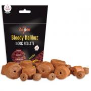Насадочные палтусовые пеллетсы Bloody Halibut Hook Pellets