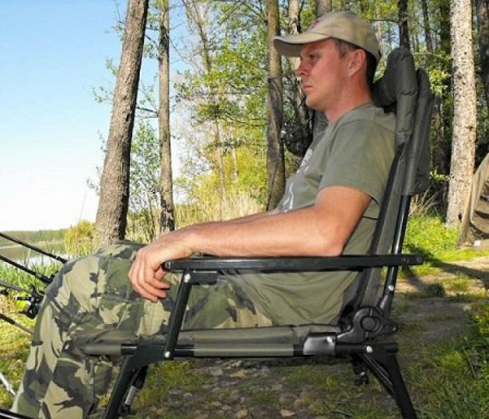 Кресло Carp Zoom Full Comfort Boilie Armchair