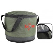 Ведро складное Carp Zoom Collapsible Bait Bucket Ø31x25cm изолированное
